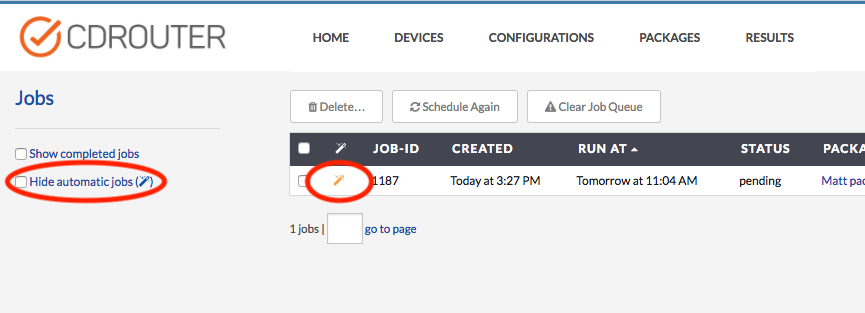 """Package Scheduler Jobs Table"""